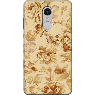 Redmi Note 4 Printed Back Case Cover - Multicolor Design