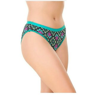 Bm fashion pack of 1s printed multicolor pantie