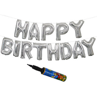 Buy NHR HAPPY BIRTHDAY Letters Foil Toy Balloon