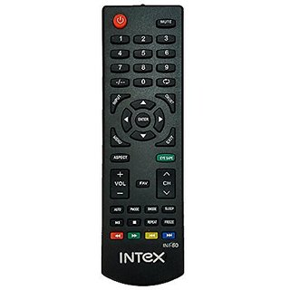 LipiWorld INT-80 LCD LED TV Remote Control Compatible For Intex LCD LED TV