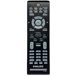 LipiWorld URC-P53 Home Theater System Remote Control Compatible For Philips 5.1 Home Theater