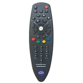 LipiWorld Setup Box Remote Control Compatible For VIDEOCON D2H