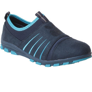Msc women Synthetic Blue Shoes