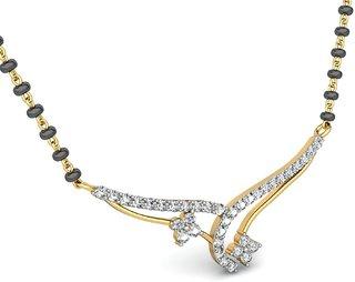 Sapphire Desire Diamond Mangalsutra