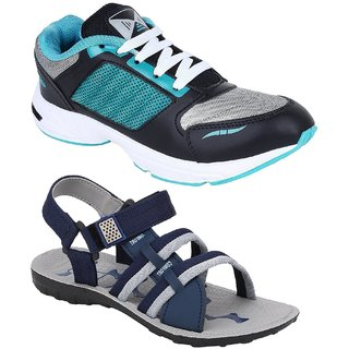 0773c6c78 Buy Chevit Men s Combo Pack of 2 Running Shoes With Floaters Sandal (Sport  Shoes) Online   ₹998 from ShopClues