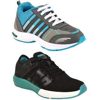 Chevit Men's Combo Pack of 2 Running Shoes (Sports Shoes)