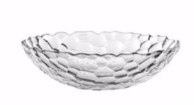 Nachtmann Sphere Lead Crystal Material Large Bowl Set