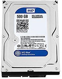 WD 500 GB HARDDISK FOR DESKTOP INTERNAL AND DVR HARDDISK