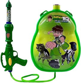 Ben 10 Water tank Pichkari for kids