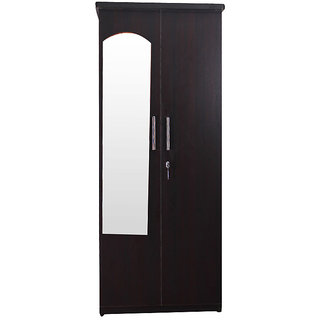 Caspian Delux 2 Door Wardrobe With Mirror