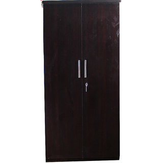 Caspian Leaf Textured 2 Door Wardrobe