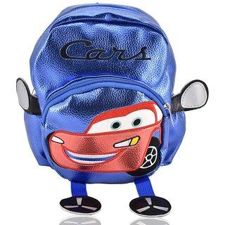 Mini Backpack Cars School Bag For Kids- Blue