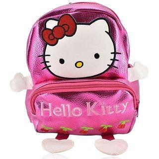 Mini Backpack Hello Kitty School Bag For Kids - Pink