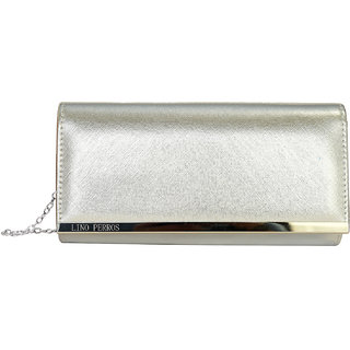 Lino Perros Silver Clutch