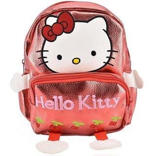 Mini Backpack Hello Kitty School Bag For Kids - Red