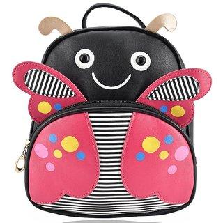 Mini Backpack Butterfly School Bag For Kids - Black
