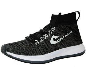 Max Air Training Shoes 8846 Black D Grey