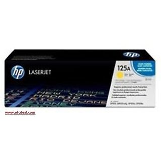 Hp 125A Yellow Laserjet Toner Cartridge CB542A offer