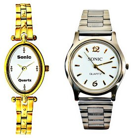 LADIES DESIGNER(WHITE DIAL) AND SILVER CHAIN (WHITE DIA