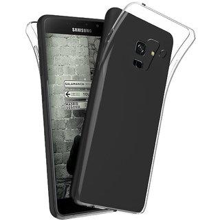 promo code e8269 dfbd8 ECS Transparent Soft Back Case Cover For Samsung Galaxy A8+ / A8 Plus 2018