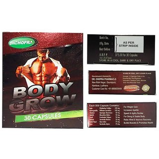 Dr. Chopra Body Grow Capsules 30s Pack x 2
