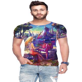 Raves Men's Poly Cotton T-shirts (Music Tees 07)