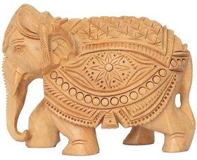 Elephant Carving 15cm
