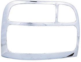 Chrome Tail  Light  Cover  (T-I)   For Maruti  Zen
