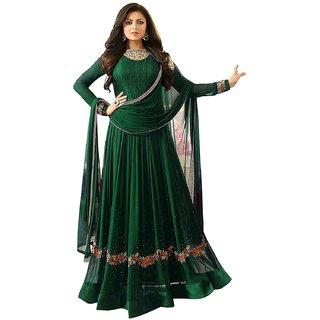 Ethnic Yard Designer Faux Georgette Festive Wear Anarkali Salwar Kameez F1162