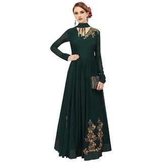 Ethnic Yard Latest Georgette Party Wear Anarkali Salwar Kameez F1141new
