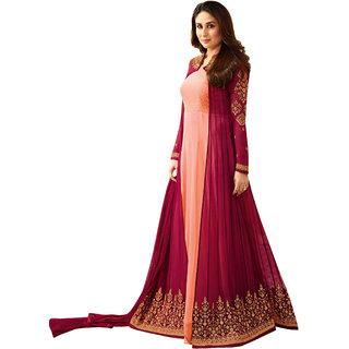 Ethnic Yard Designer Faux Georgette Festive Wear Anarkali Salwar Kameez F1165