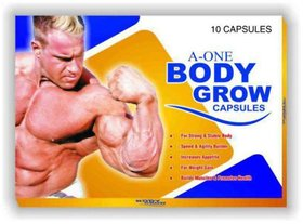 G  G Pharmacy A-One Body Grow Capsules Pack Of 3