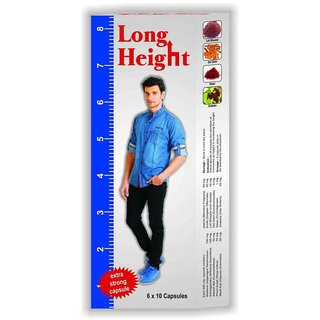 G  G Pharmacy Long Height Capsules