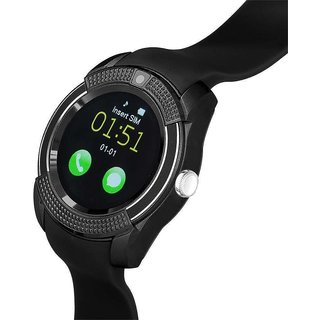 Micromax Superfone Canvas A100 Compatible Wireless Bluetooth Sim Supported Watch M9Black for Android Smart Phones by Sensivo available at ShopClues for Rs.1699