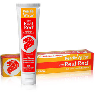 The Real Red Anti-Cavity  Fluoride Toothpaste 138gm