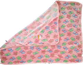 Butterfly Fleece Cotton Baby Hooded Towel
