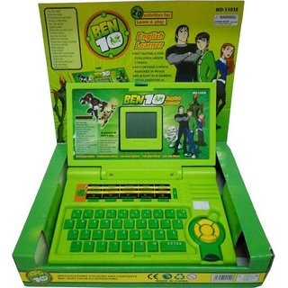 Goyal NEW Ben 10 English learner laptop for Kids  (Multicolor)