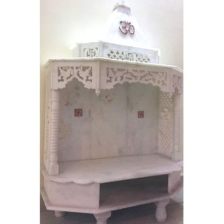 Buy Pure White Marble Mandir Online ₹29000 From Shopclues