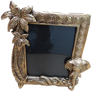 Handicrafts Antique Look Golden Photo Frame