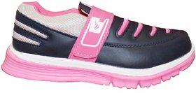 Orbit Ladies Sports Running Shoes L008 Navy Pink