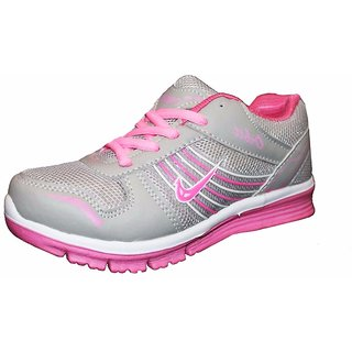 0567e65811c0 Orbit Ladies Sports Running Shoes Ls Grey Pink
