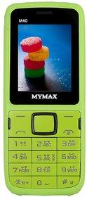 Mymax M40 Dual Sim  18 inc Feature phone   Open FM with Talking Keypad  1000mAh Battery