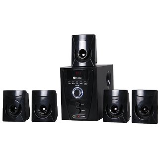 Flow Flash 5.1 Channel Home Theater System (Black)