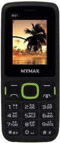 Mymax M41 (Dual Sim, 1.77 Inch Display, Wireless FM, 1000 Mah Battery)