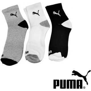 Branded Men Ankle Length Socks (pair of 3 )