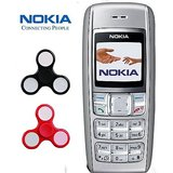 Nokia 1600 / Good Condition/ Certified Pre Owned (6 months Seller Warranty) with 2 Spinner