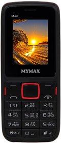 Mymax M40 (Dual Sim, 1.8 Inch Display, 1000 Mah Battery)