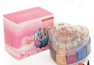 T.Y.A. shimmer and glitter eyeshadow 24 colors.