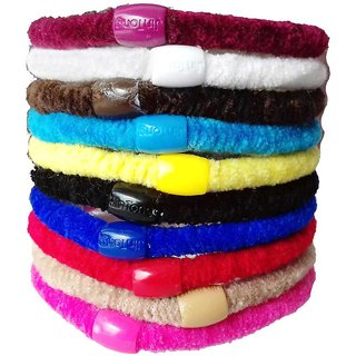 Fragrance N Beauty Multi Color Velvet Hair Band Hair Accessories