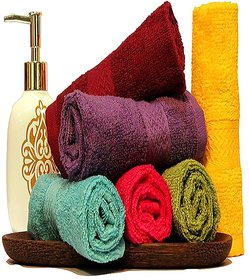 Premium Soft Face Towels- 6pcs